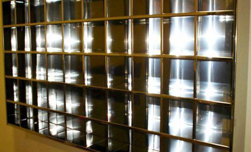 Estructura metálica para pared
