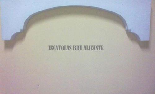 arcos de escayola en Alicante