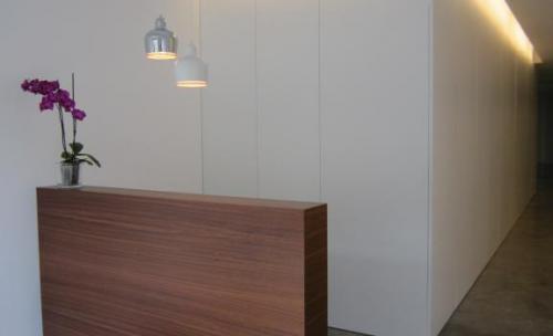 fotografía del interior