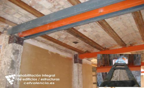 Refuerzos estructurales de edificios e inmuebles en Valencia