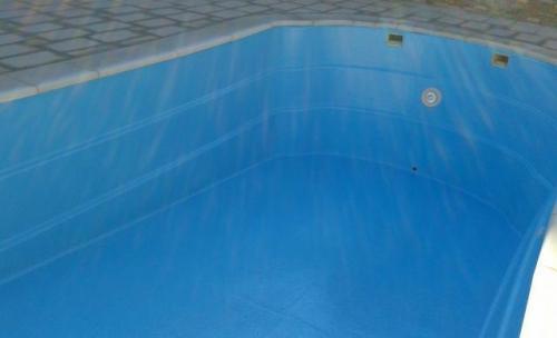 Reparacion de piscina de vaso con grietas y perdida de agua